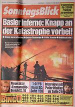 SonntagsBlick vom 2. November 1986 - klicken für grössere Fassung