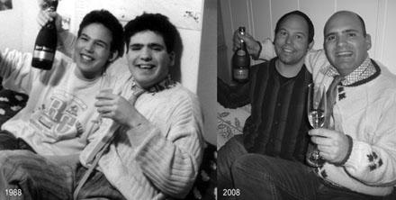 Nach 20 Jahren nachgestelltes Foto