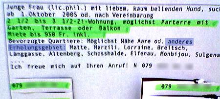 Erholungsgebiet Bern