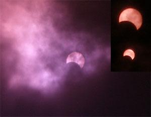 Sonnenfinsternis in Bern, 29.3.2006, Stand 12.36 Uhr