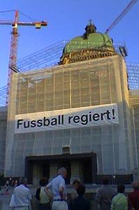 Bundeshaus, Mitte Juni 2006