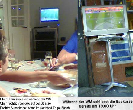 Szenen aus einer WM-verrückten Schweiz, Juni 2006