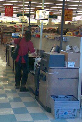 Self Checkout, Albertsons, Union City, CA