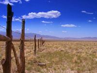 US-50, an der Grenze Nevada/Utah, August 2006