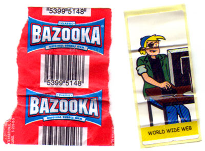 Bazocka a.k.a. Bazooka: Joe surft heute im WWW