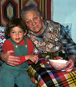 Die beste Urgrossmutter: Gib dem Blogger geraffelte Äpfel, anno 1976 (klicken für grössere Fassung)