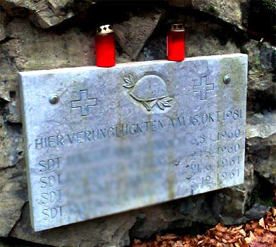 Was geschah hier am 15.10.1981? Auf dem Weg vom Kemmeribodenbad nach Sörenberg.