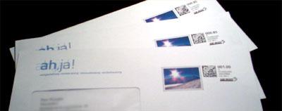 Mit Webstamp selbst frankiert: Kreiere deine eigene Briefmarke