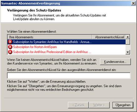 Symantec-Schrott, Teil 4