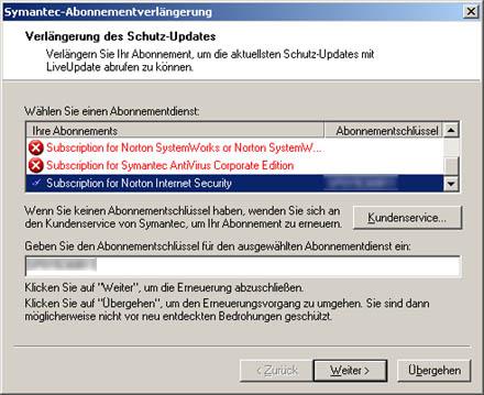 Symantec-Schrott, Teil 5