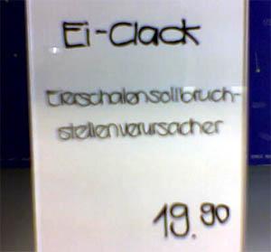 Eierschalensollbruchstellenverursacher - das gibts tatsächlich (Konstanz, Januar 2007)
