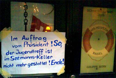 Ende, aus! (Bern, Januar 2007)