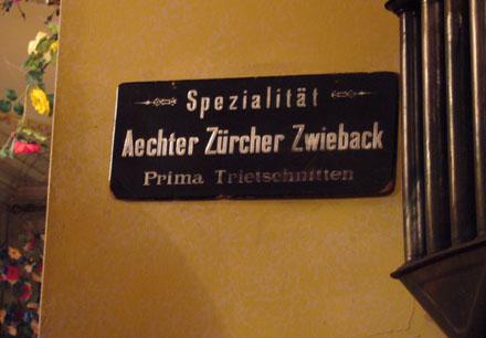 Ächt Züri, gäll. (Café Schober, Januar 2007)