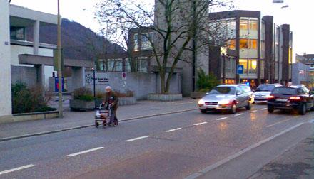 Alvin Straight in Liestal? (7. März 2007, beim Stadtmärt)
