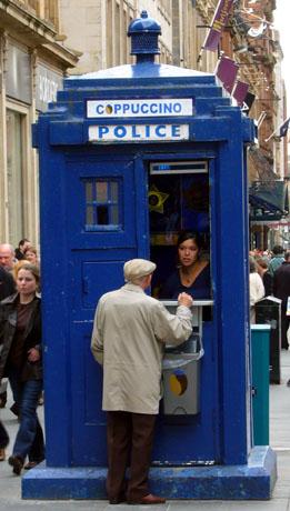 Coppuccino (Glasgow, Schottland, Mai 2007)