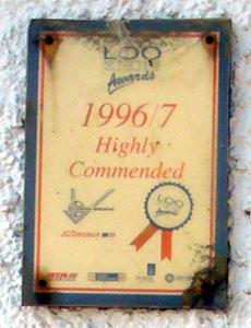 Loo Award 1996/97 für das öffentliche WC in Tobermory, Isle of Mull - boah!