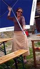 Denise Soliva: Beizerin mit Pepp - und feinem Café mit besonderer Beigabe... (Juli 2007)
