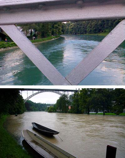 Montag und Donnerstag: Zwei Welten... (6./9. August 2007, Altenberg)