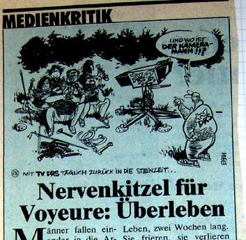 SonntagsZeitung vom 27. August 1989 (Klicken für gesamten Artikel)