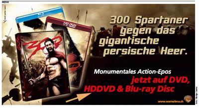 """HDDVD, DVD, Blaustrahl... bitte einfach EIN Format, liebe Industrie! (""""heute"""", 24. August 2007)"""