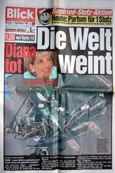 BLICK-Titelseite am 1. September 1997 (Klicken für grosse Fassung)