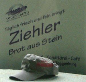 Brot aus... Stein? (Talstation Sesselbahn Sellamatt, Alt St. Johann, 1. September 2007)
