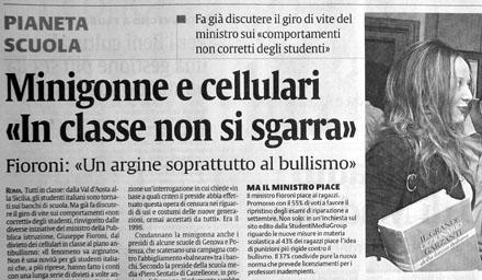 Die gleichen Probleme wie daheim... - La Sicilia, 17. September 2007