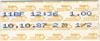 Bahn-Ticket des Tarifverbundes Nordwestschewiz an die Swiss Indoors, 10.10.1987 (Klicken für grössere Fassung)