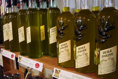 Olivenöl aus Callas, November 2007