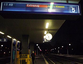 Extrazug NEAT-Express Brig-Spiez: Faszinierend! (28.11.2007, Visp)