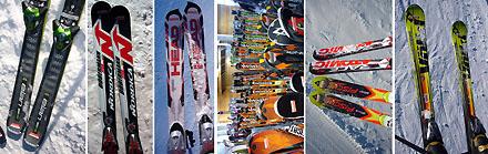 Skitest im Spätherbst 2007: Tipps für gute Latten - Klicken für grössere Fassung