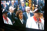 Vereidigung von Eveline Widmer-Schlumpf an 13.12.2007 (Bild: Schweizer Fernsehen)