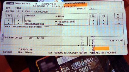 Ticket nach Freiburg im Breisgau: Seit dem 9. Dezember ein Globalpreis samt Zuschlägen!