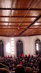 Händels Jephtha in der Kirche Langnau (Februar 2008)