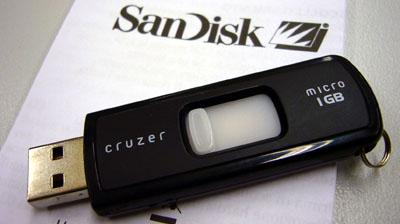 SanDisk-USB-Stick mit U3: Usability-Nullnummer