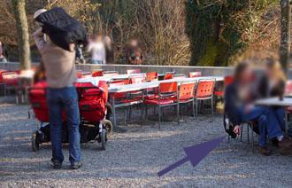 Ego-Raucher vertreibt Eltern und Kinder: Dählhölzli, Februar 2008