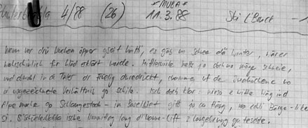 Manuskript zur Sendung vom 11.3.1988