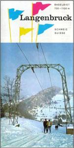 Skiliftprospekt von Langebruck aus den 1960er-Jahren (Archiv skiliftfotos.ch)