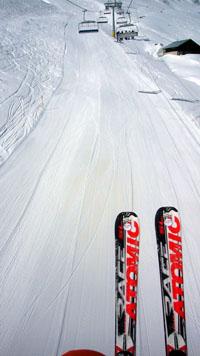 Atomic Race SL: Ein herrlicher Ski! (Sedrun, März 2008)
