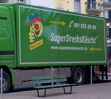 Superdreck? Maach? - Interessante Begegnung im Breitenrain (April 2008)
