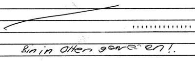 In Olten, also kein Wetter... (Juni 1982 - klicken für komplette Fassung mit drei Tageseintragungen)
