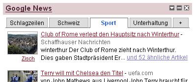 Club of Rome als Sportverein...? (April 2008)