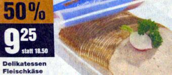 Fleischkäse mit Radieschen, whooow! (Mai 2008)