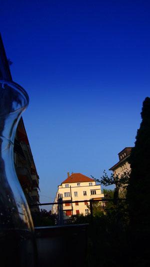 Wieder mal Pfingsten in der Region: Melchtalstrasse, Bern, Pfingstsamstag 2008