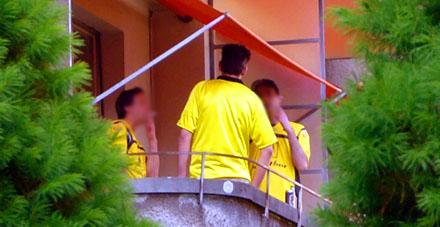 Der Quasi-Final: Vorbereitungen auf Berner Balkonen (10. Mai 2008)