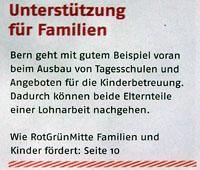Prospekt von Rot-Grün-Mitte (versandt Mitte Mai 2008): Wo bleiben die Taten statt Worte?