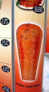 Lecker, ok... aber vital? (Dönerbude an der Schönhauser Allee, Berlin, Mai 2008)