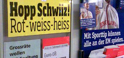 Der BLICK betreibt Zweckoptimismus (7. Juni 2008)