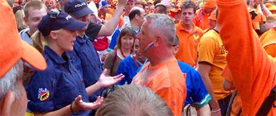 Verbrüderung zwischen Kapo und Fans (9. Juni 2008)