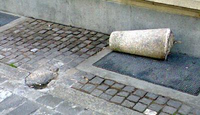 Alltag in der Altstadt - eine Kameraüberwachung würde immerhin die Verrechnung der Kosten erlauben (Mai 2008)